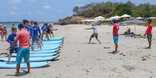 Surf Camp in La Lancha