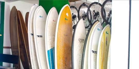 Sayulita surfboard shop