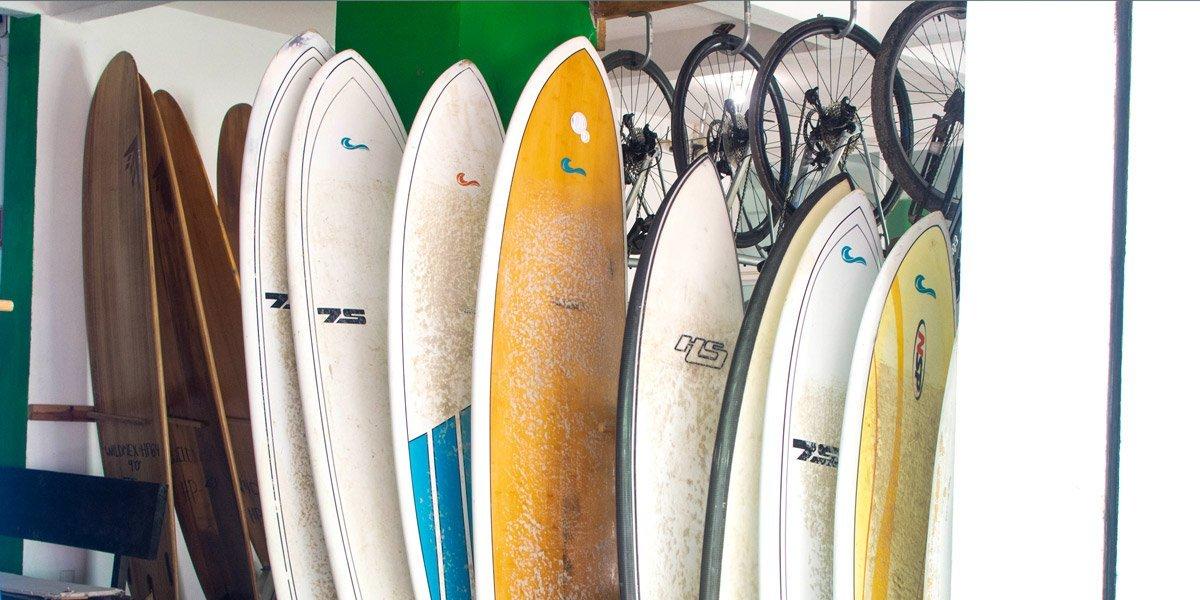 Sayulita surfboard shop