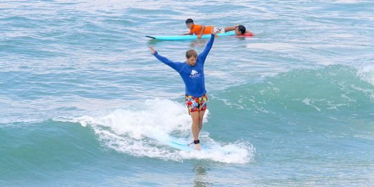 Surfing Puerto Vallarta