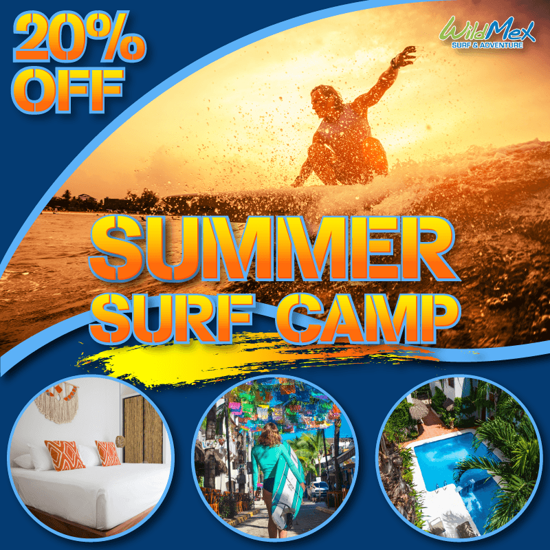 Summer Surf Camps 20% off