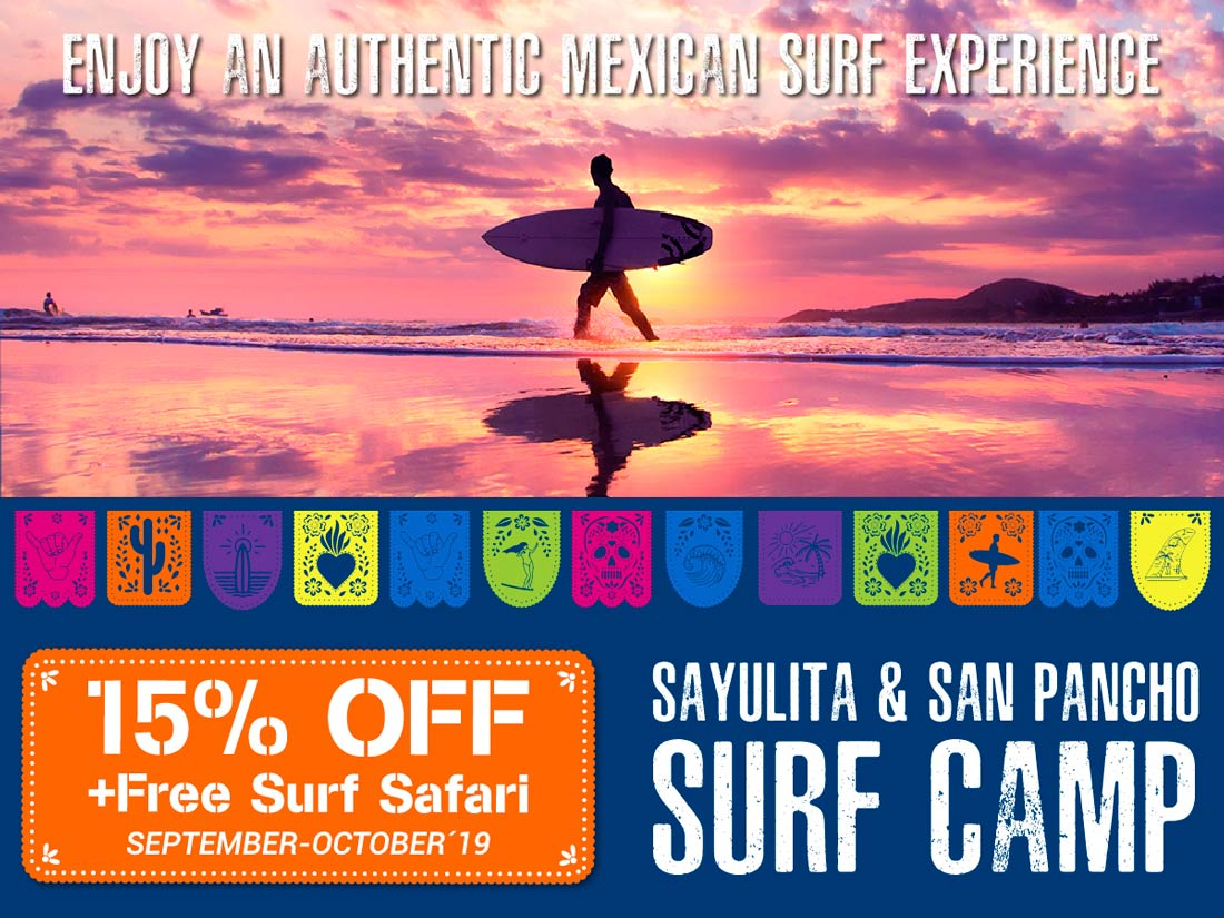 Enjoy an authentic Mexican Surf Experience