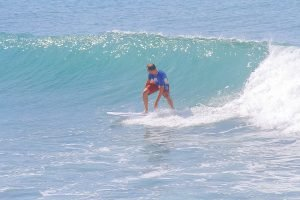 Surfing in Tropical Waters