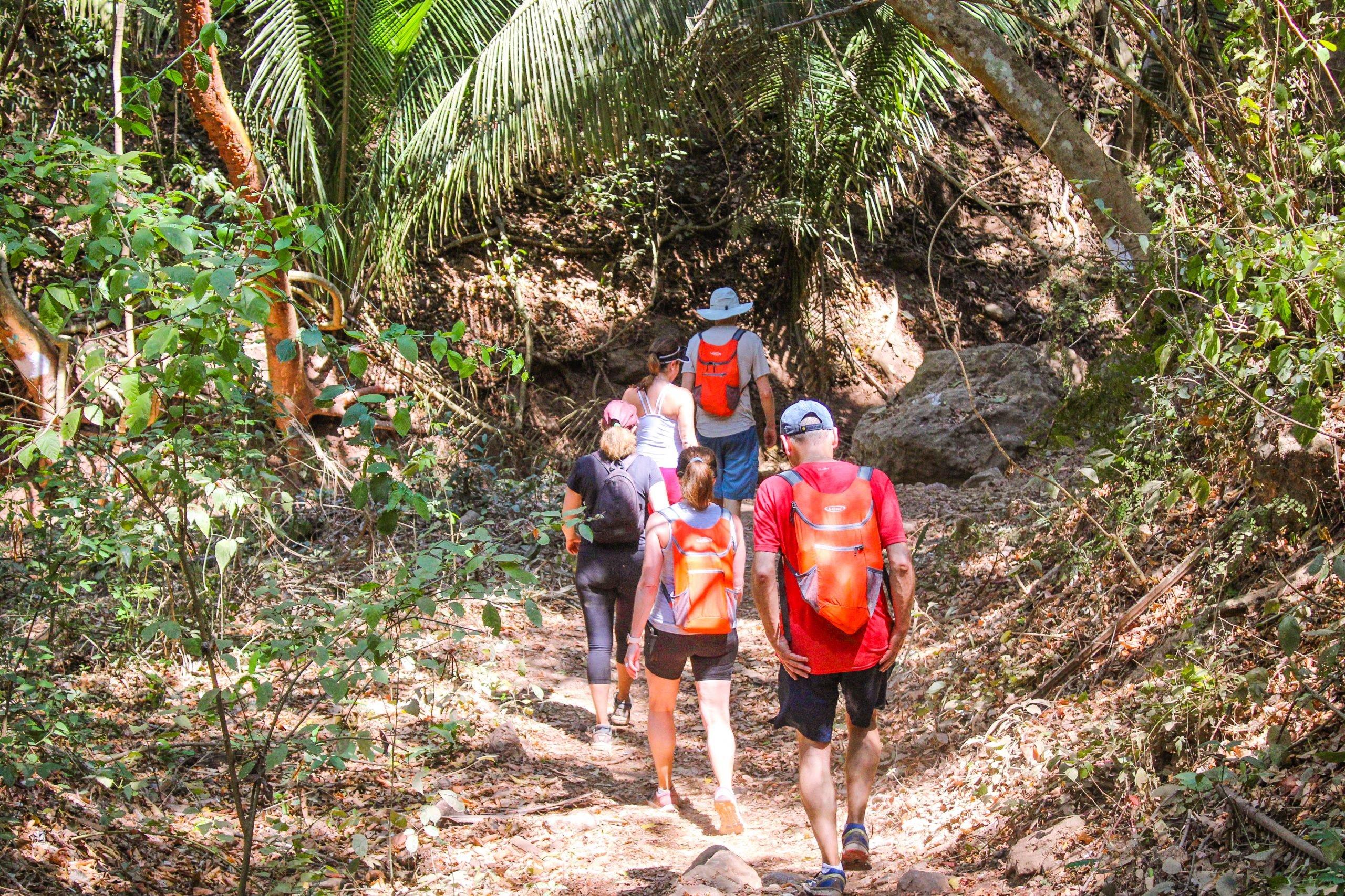 Hiking to Monkey Mountain