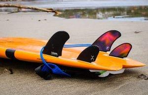 Machado Seaside Quad Fins - FCS from Wildmex's Surf Camps in Punta Mita
