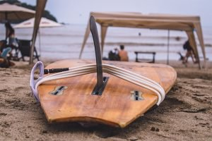 single fin on a longboard to Learning how to surf in Mexico