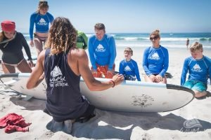 Surf lessons in La Lancha with certified, local surf coaches at Wildmex