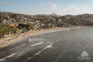 wave set in Sayulita